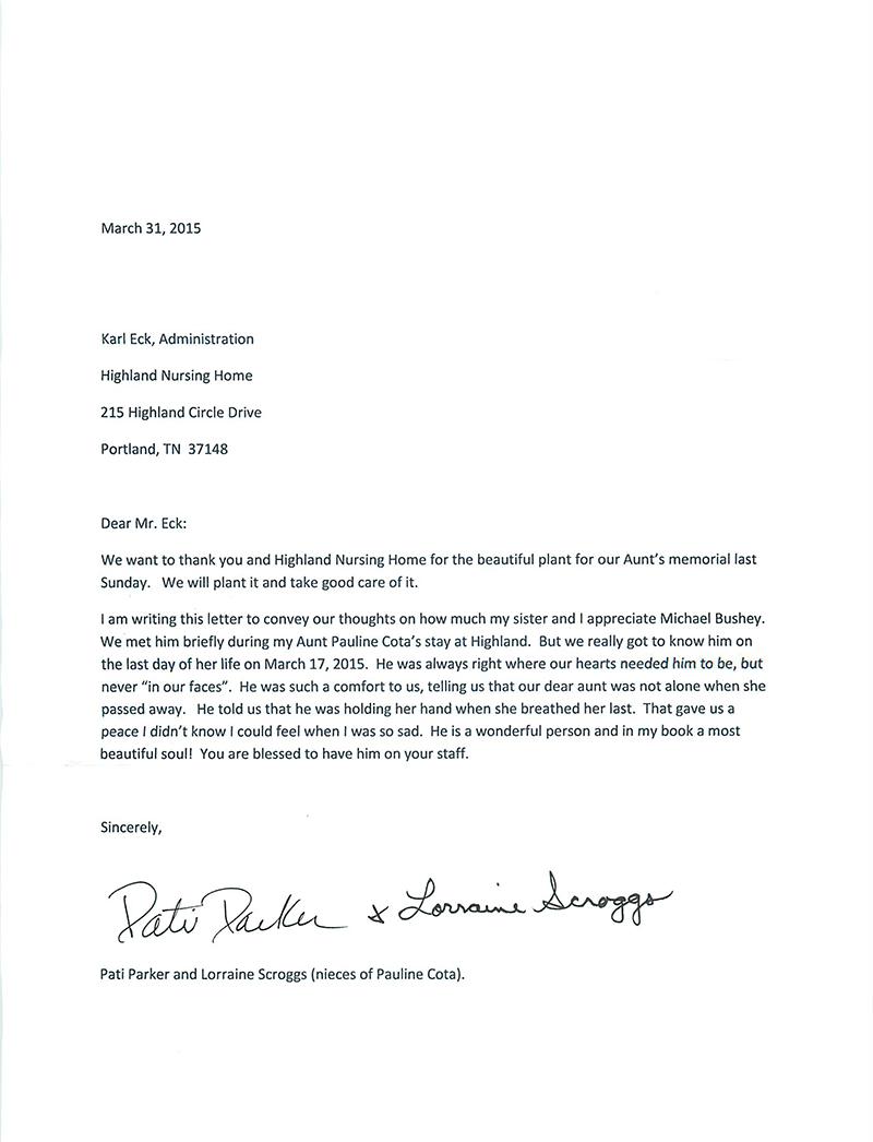 Michael letter-1